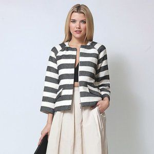 Lord & Taylor 424 Fifth Striped Jacket 6